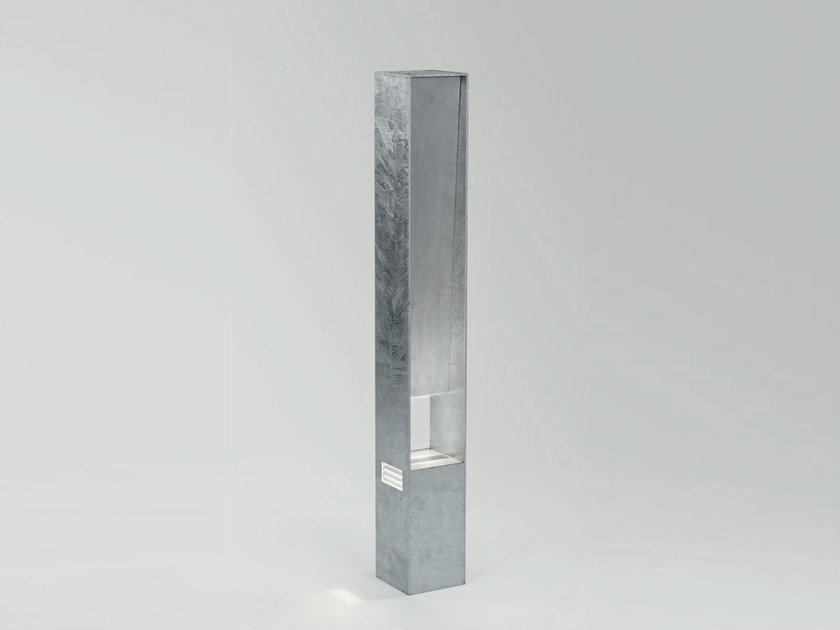 LED steel bollard light DREVE by Delta Light