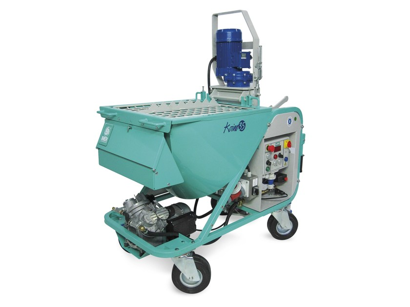 Plastering machine KOINE 35 by IMER INTERNATIONAL