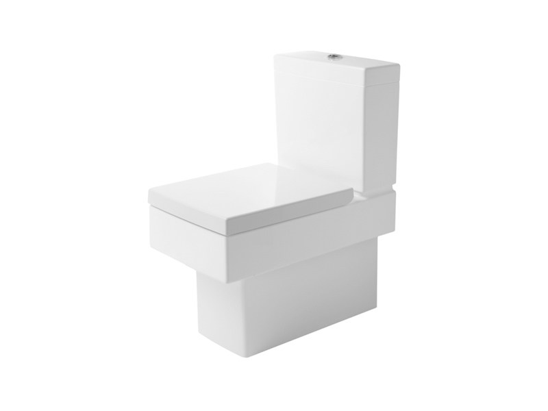 Close coupled ceramic toilet VERO | Close coupled toilet by Duravit