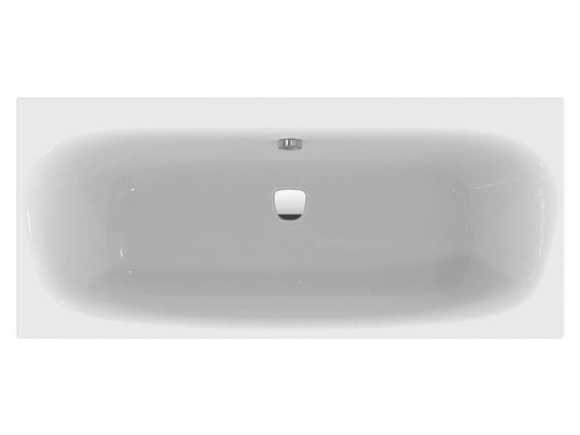 Vasca Da Bagno Standard : Vasca da bagno rettangolare in acrilico da incasso dea e
