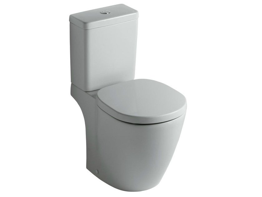 Ideal Standard Vaso Connect.Close Coupled Ceramic Toilet Connect E8038 By Ideal Standard