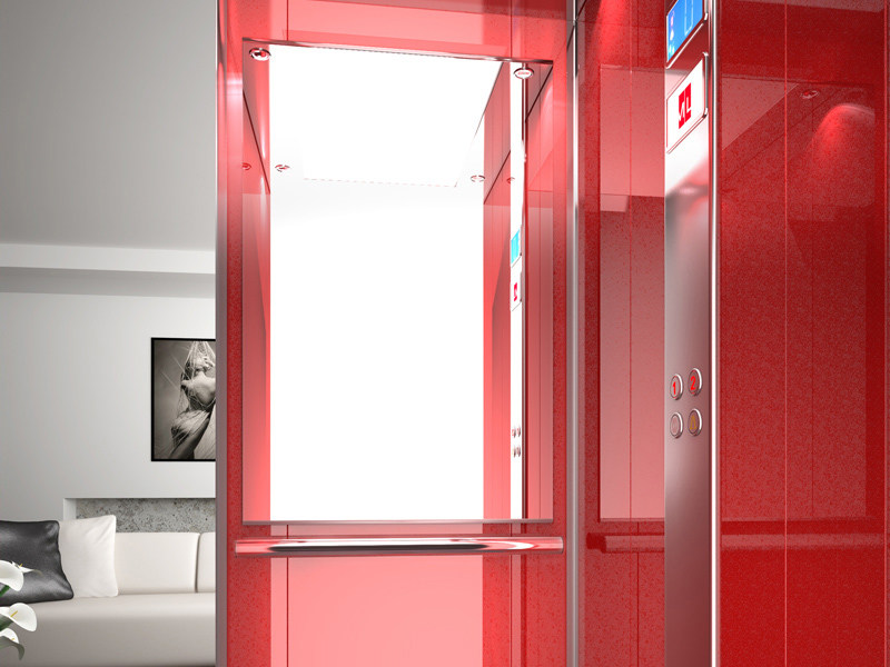 Hydraulic house lift SUNLIFT by MEDIALIFT
