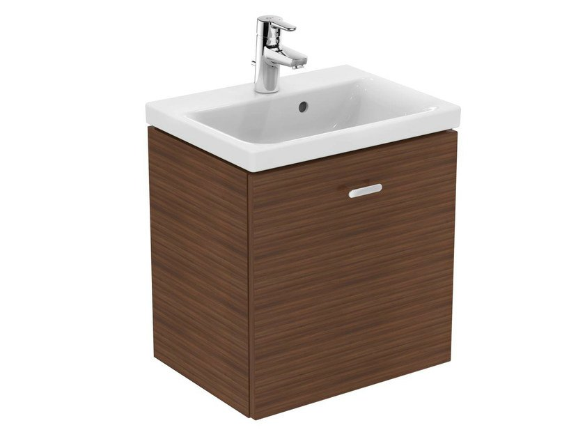 Ideal Standard Lavabo Tesi.Wall Mounted Vanity Unit With Drawers Connect Space