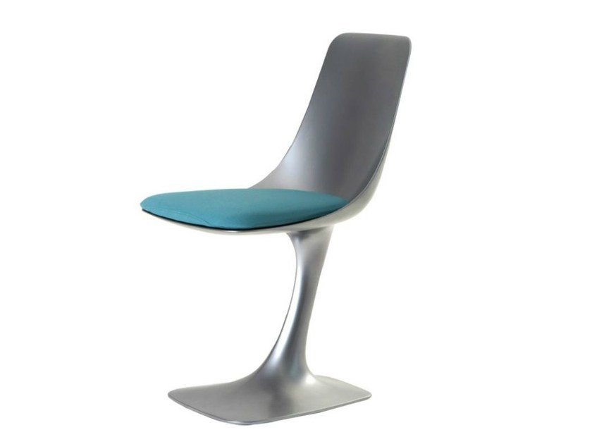 Lacquered Polyurethane Chair Arum By Roche Bobois Design