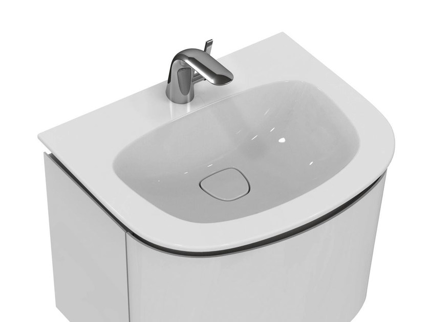 Lavabi Ad Incasso Ideal Standard.Inset Washbasin With Overflow Dea T0446 By Ideal Standard