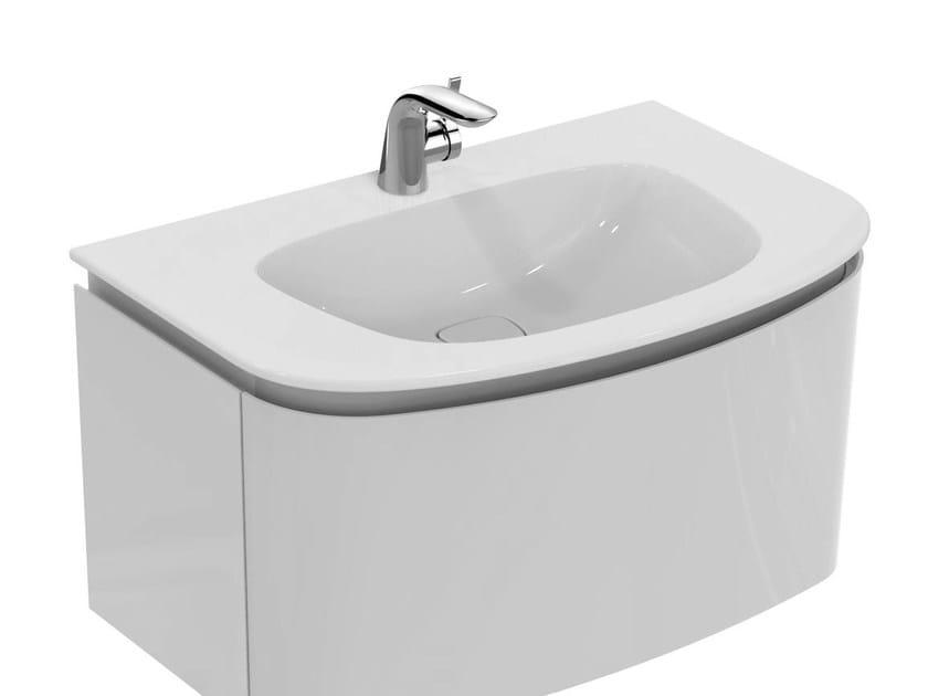 Lavabi Ad Incasso Ideal Standard.Lavabo Da Incasso Soprapiano Con Troppopieno Dea T0447 By Ideal