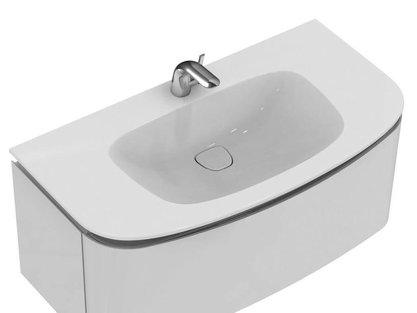 Lavabi Ad Incasso Ideal Standard.Lavabo Da Incasso Soprapiano Con Troppopieno Dea T0448 Ideal