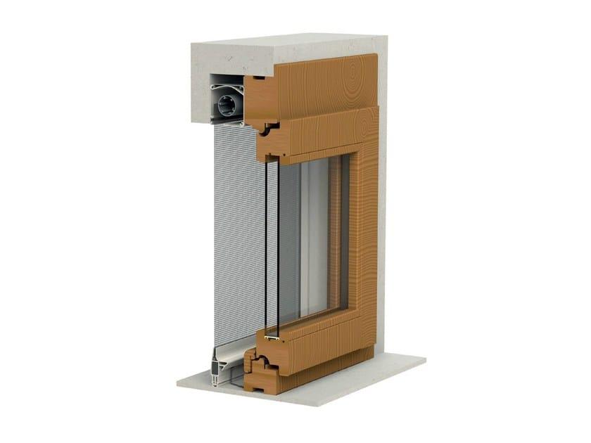 Built-in vertical insect screen CASPER PLUS by Mv Line