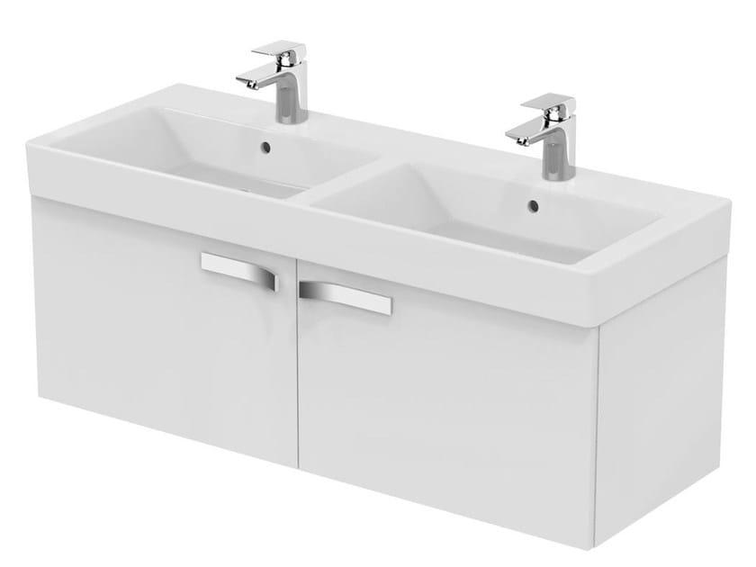 Ideal Standard Lavabi Sospesi.Mobile Lavabo Doppio Sospeso Con Cassetti Strada K2661 By Ideal