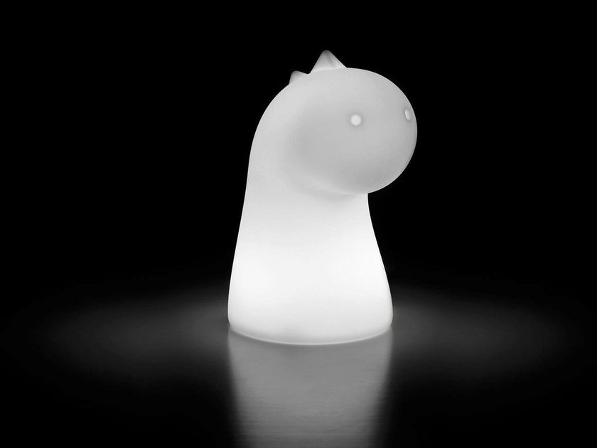 Polyethylene table lamp for children DRAGHETTO LIGHT by Plust