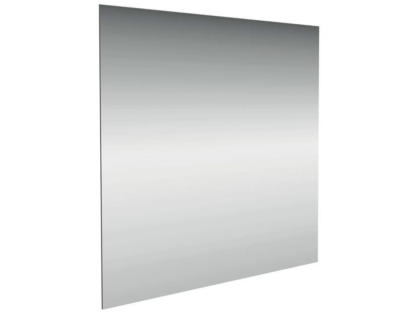 Specchio quadrato a parete per bagno connect cm e