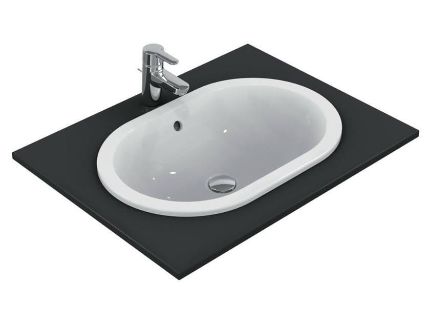 Vasche Da Bagno Da Incasso Ideal Standard : Lavabo da incasso soprapiano ovale connect cm e