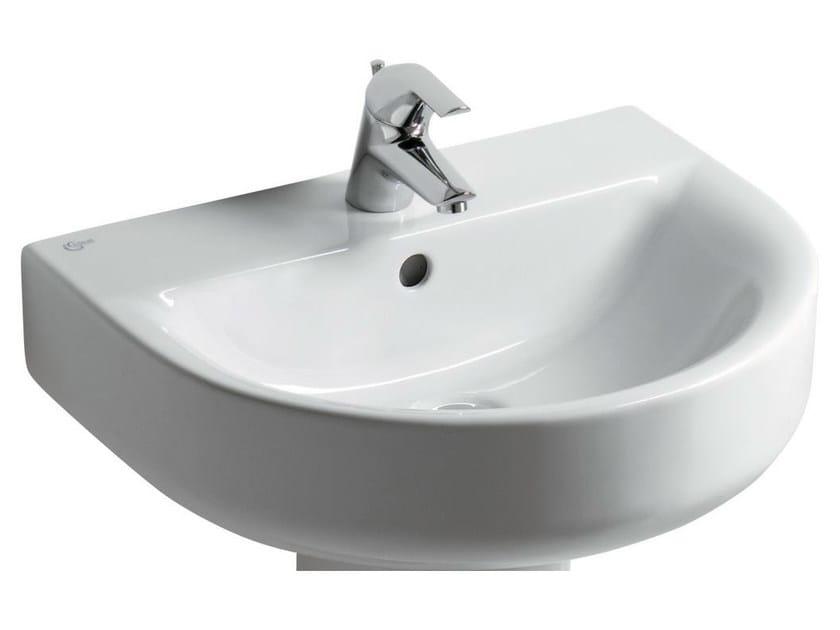 Catalogo Lavabi Ideal Standard.Lavabo Singolo Sospeso Connect 70 X 46 Cm E7740 Ideal Standard