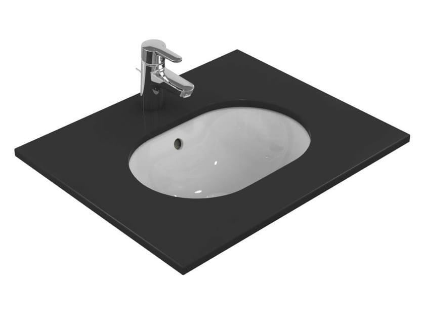 Lavabi Ad Incasso Ideal Standard.Lavabo Da Incasso Sottopiano Ovale Singolo Connect 48 X 35 Cm