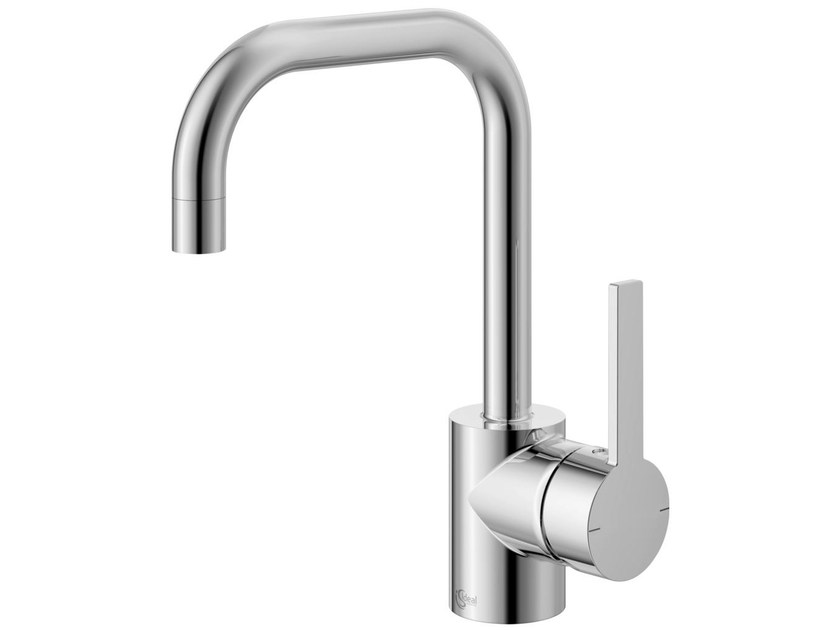 Countertop single handle washbasin mixer with adjustable spout NEON - A5705 by Ideal Standard