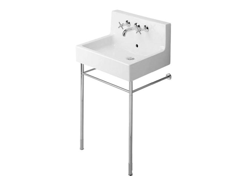 Console washbasin with overflow VERO | Console washbasin by Duravit