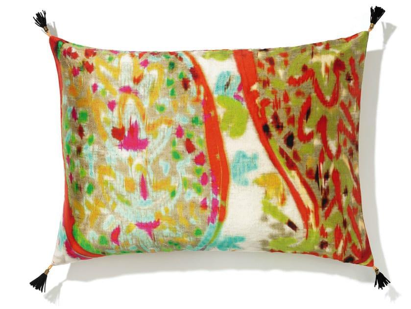 Rectangular silk cushion with removable cover DIVINA   Cushion by Élitis