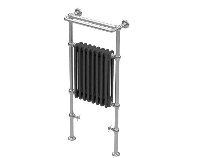 Classic style floor-standing floor-standing cast iron radiator SSPVN3 | Radiator by BLEU PROVENCE