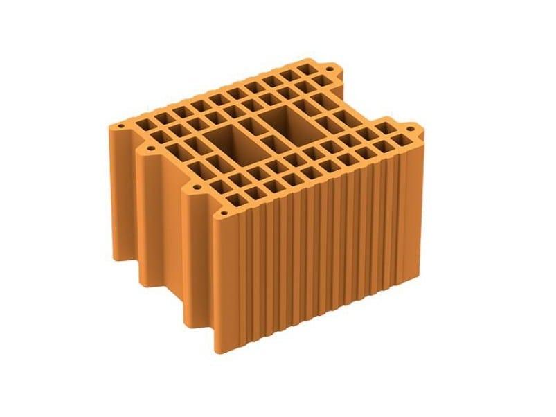 Thermal insulating clay block POROTON P700 by DANESI LATERIZI