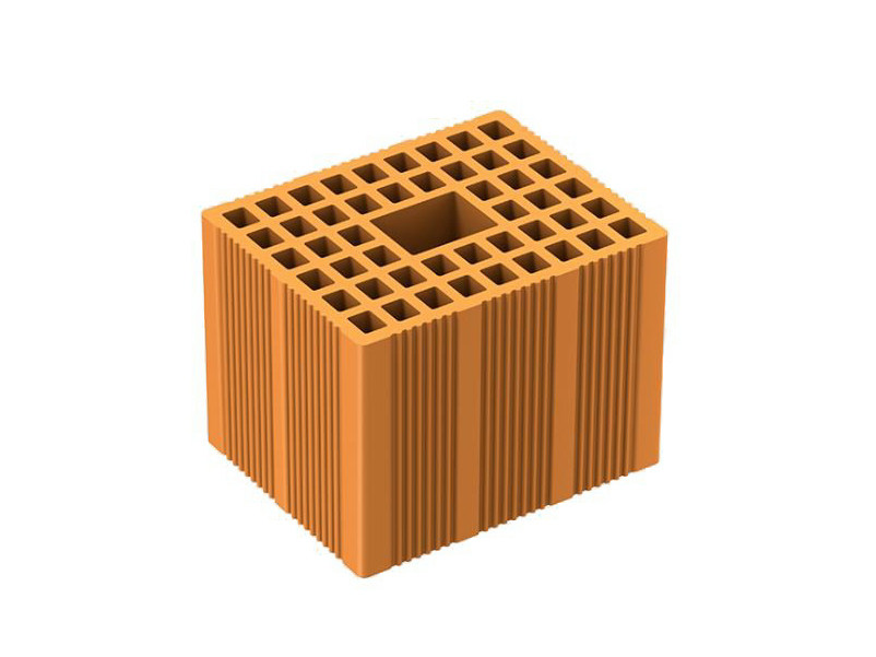 Loadbearing clay block ISOMURO by DANESI LATERIZI