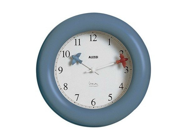 Wall-mounted ABS clock KITCHEN CLOCK by Alessi