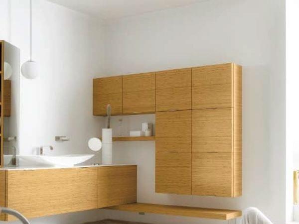 Suspended Storage Bathroom cabinet MAORI   Storage bathroom cabinet by Cerasa