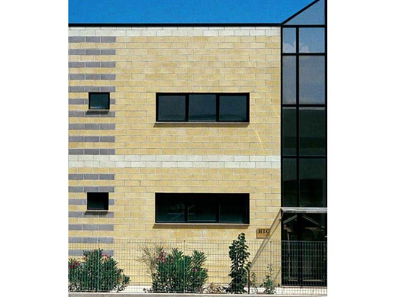 Lightweight concrete block for external wall BLOCCO ARCHITETTONICO FACCIAVISTA by LecaSistemi