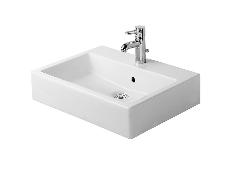 Rectangular ceramic washbasin VERO | Washbasin by Duravit
