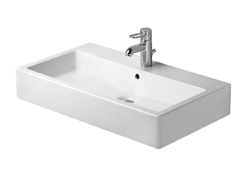 Rectangular ceramic washbasin VERO | Washbasin by Duravit