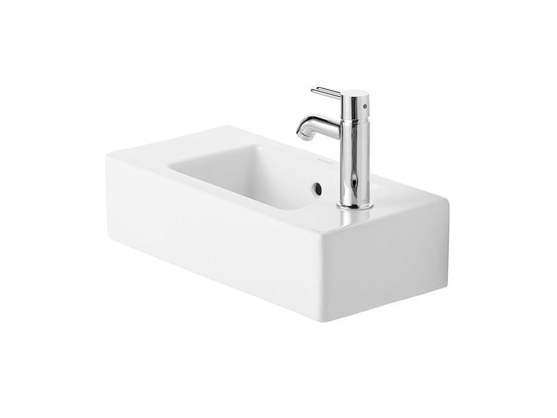 Rectangular ceramic handrinse basin VERO | Handrinse basin by Duravit