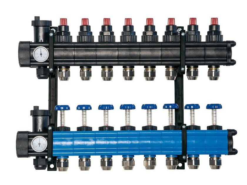 Manifold for drainage system EVOFLOOR by PANTHERM