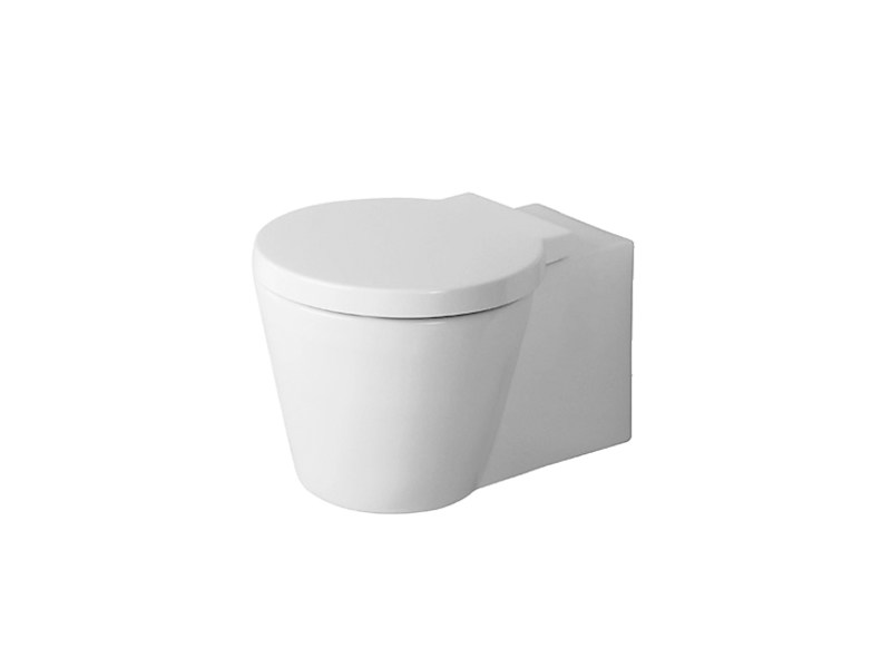 Wall-hung ceramic toilet STARCK 1 | Toilet by Duravit