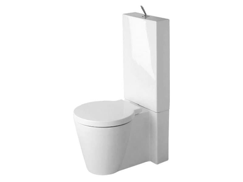 Close coupled ceramic toilet STARCK 1 | Toilet by Duravit