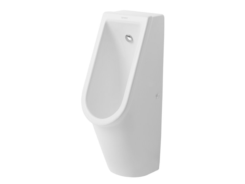 Suspended ceramic Urinal STARCK 3 | Urinal by Duravit