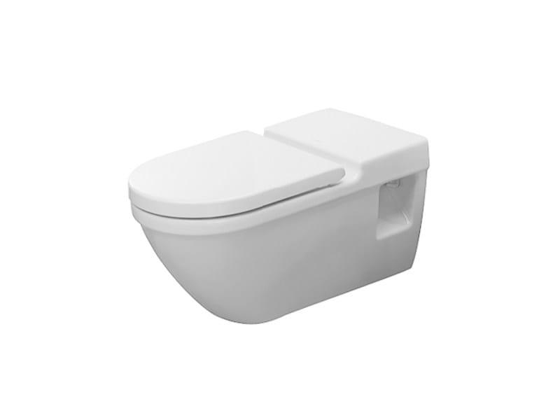 Wall-hung ceramic toilet STARCK 3   Wall-hung toilet by Duravit