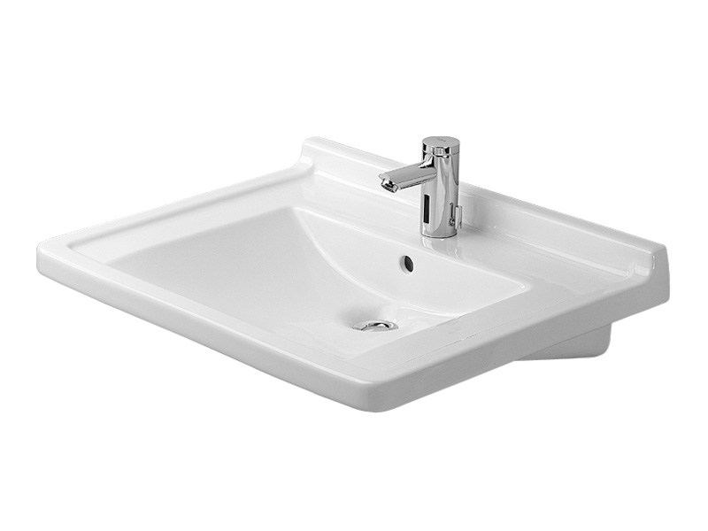 starck 3 washbasin for disabled by duravit design. Black Bedroom Furniture Sets. Home Design Ideas