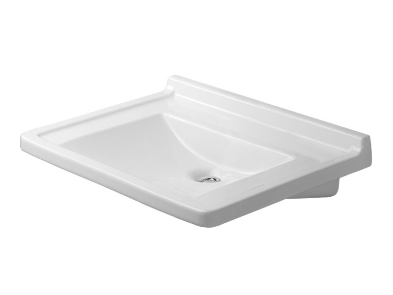 Ceramic washbasin for disabled STARCK 3 | Washbasin for disabled by Duravit