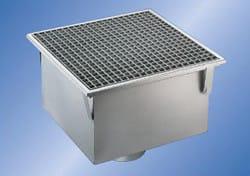 Chiusino Grigliato INOX PGR050200