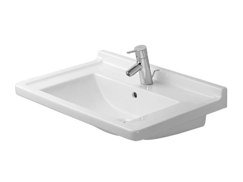 Ceramic washbasin STARCK 3 | Washbasin by Duravit