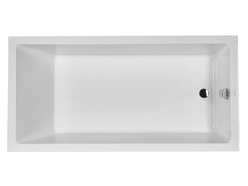 Built-in rectangular bathtub STARCK 1 | Built-in bathtub by Duravit