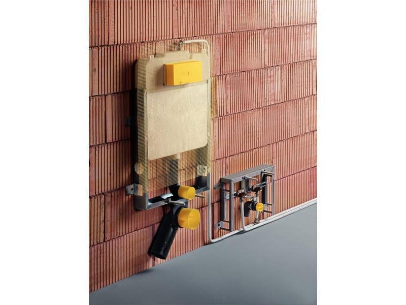 MONO SLIM e MONO TEC Montaggio di Viega Mono Tec WC e bidet davanti alla parete