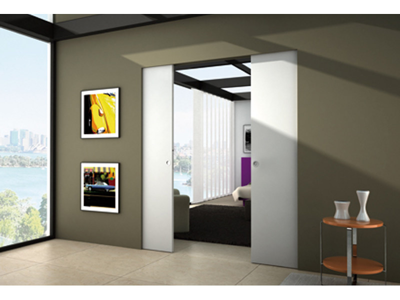 Counterframe for two sliding doors SYNTESIS® LINE estensione by Eclisse