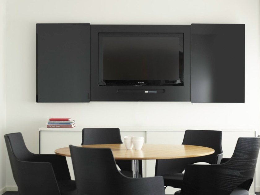 Retractable TV cabinet MESSENGER by Abstracta