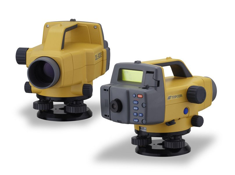 Optical and laser level TOPCON DL-500 by Topcon
