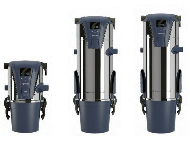 Central vacuum cleaner TXA by AERTECNICA