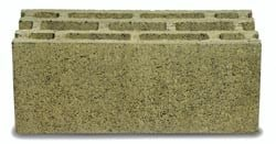 Lightweight concrete block for external wall TERMOBLOCCO FACCIAVISTA by SISTEMA TERMOBLOCCO