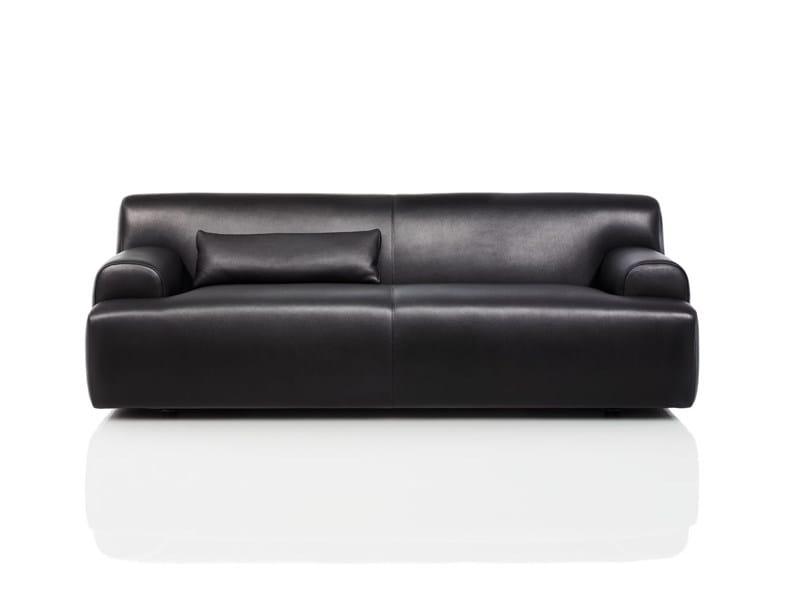 Leather sofa ALEX | Sofa by Wittmann