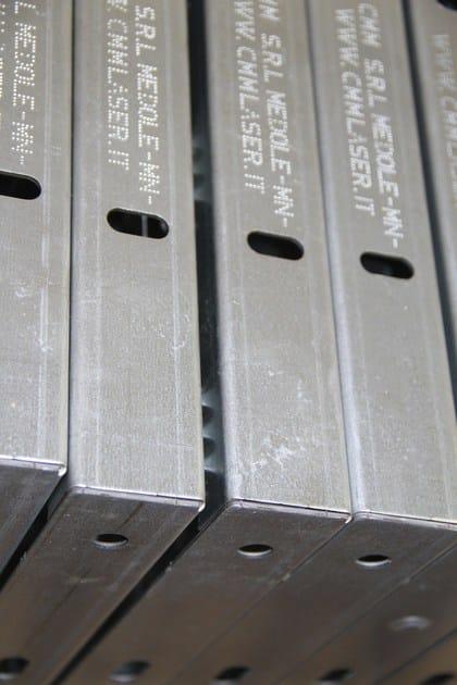 marcatura lamiere zincate
