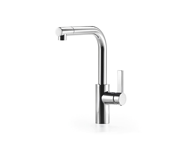 2 hole kitchen mixer tap with individual rosettes ELIO by Dornbracht