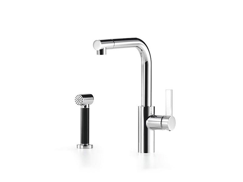 Kitchen mixer tap with diverter with spray ELIO by Dornbracht